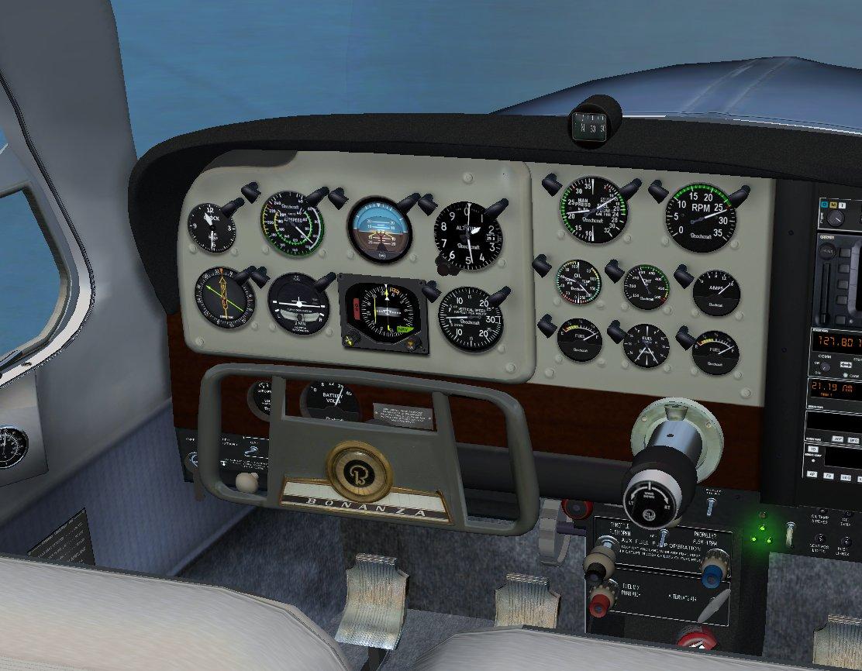 Flightsim Developers Beechcraft V Tail Bonanza For